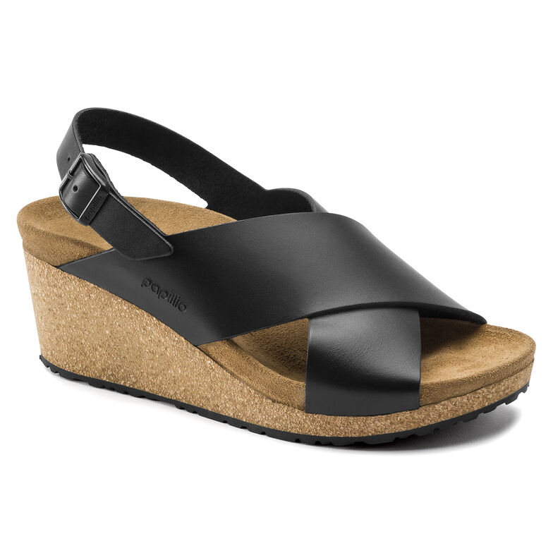 Samira Natural Leather Black
