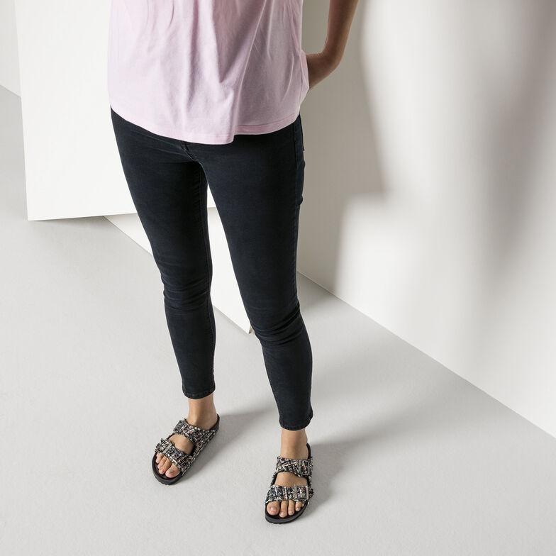 Arizona Suede Leather/Textile Allure Grey