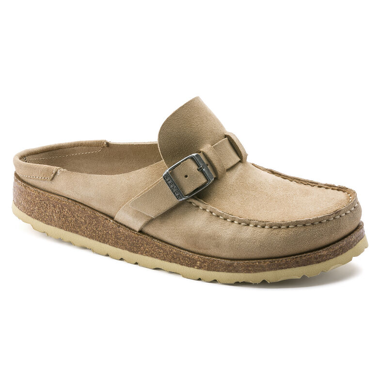 Buckley Suede Leather Sand
