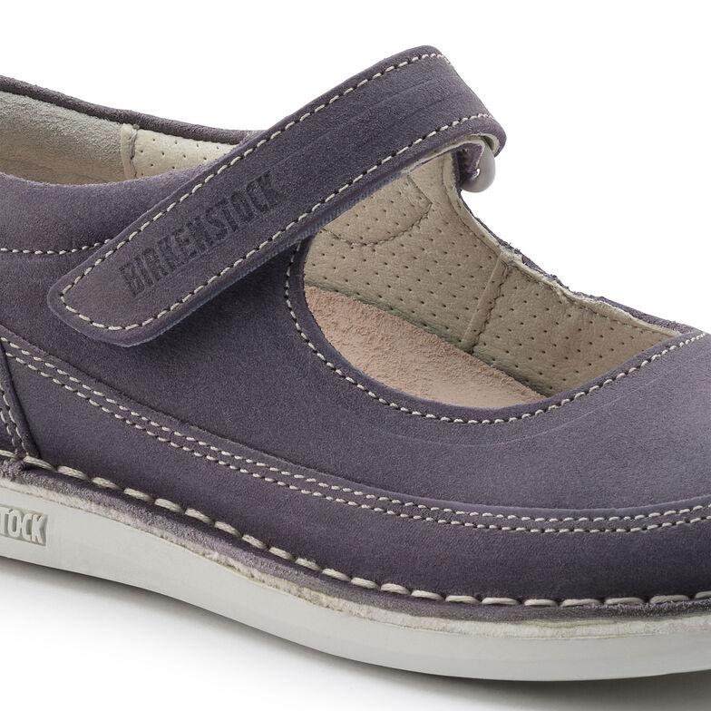 June Suede Leather Purple
