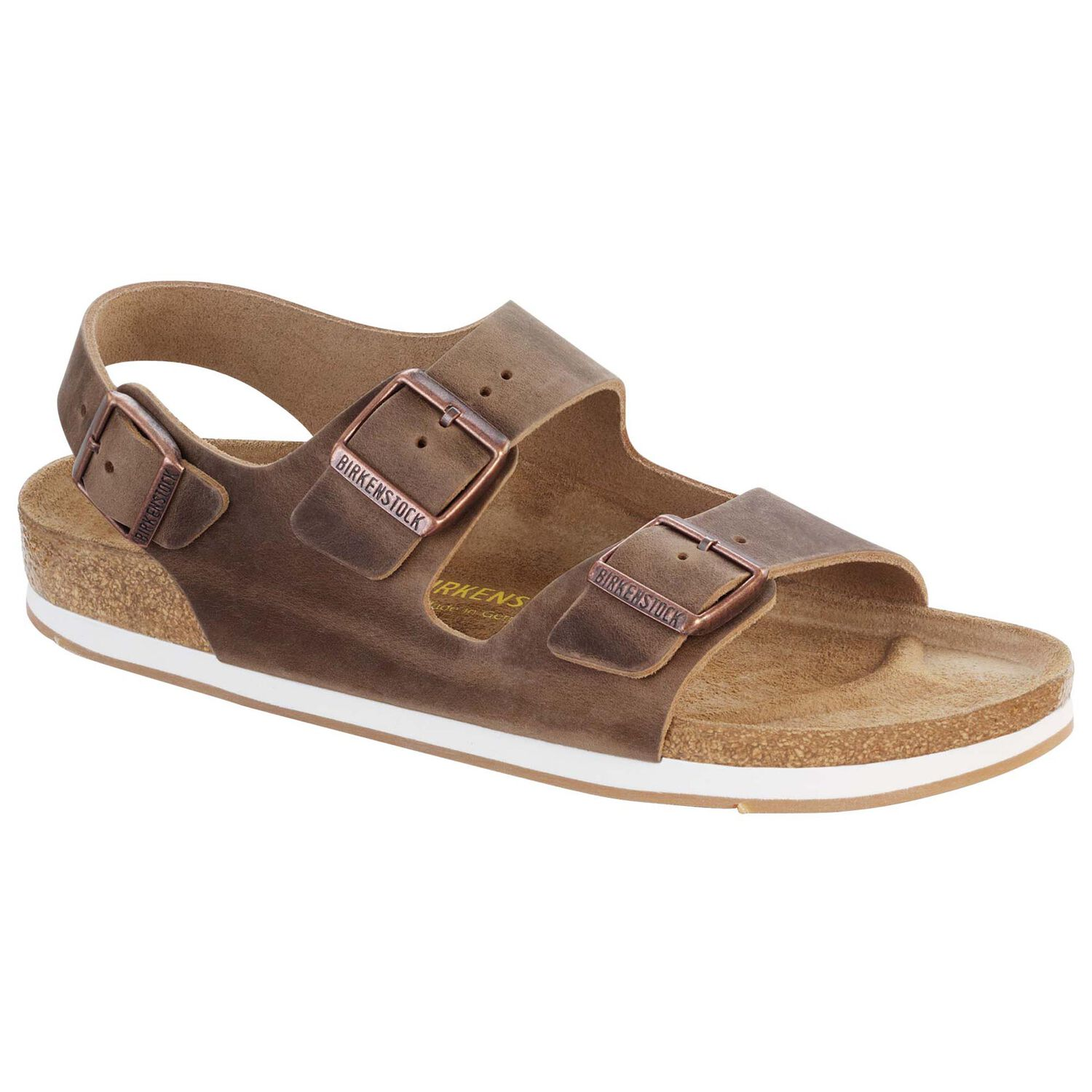 Milano Oiled Leather Tabacco Brown Birkenstock