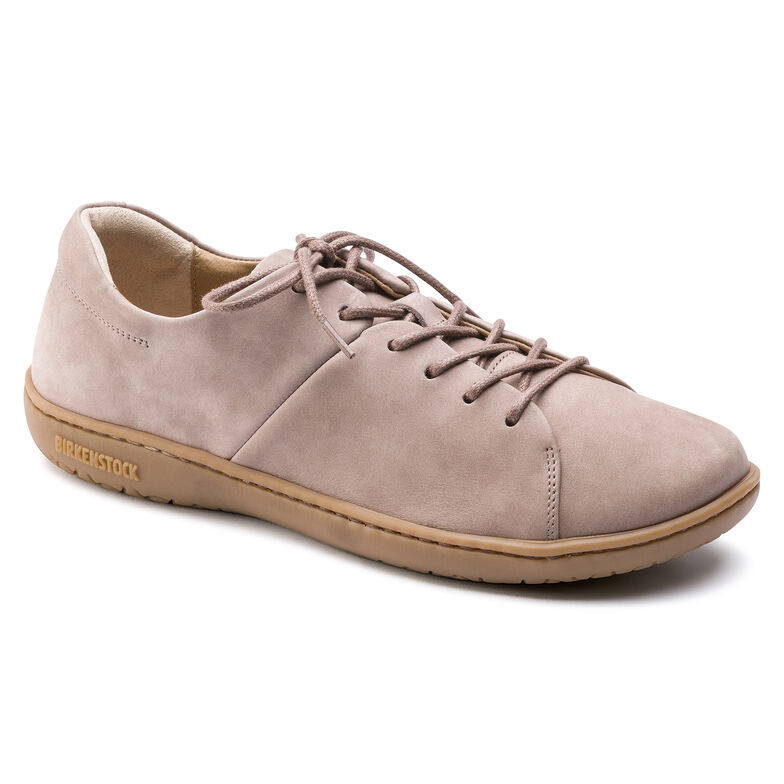 Albany Nubuck Leather Taupe