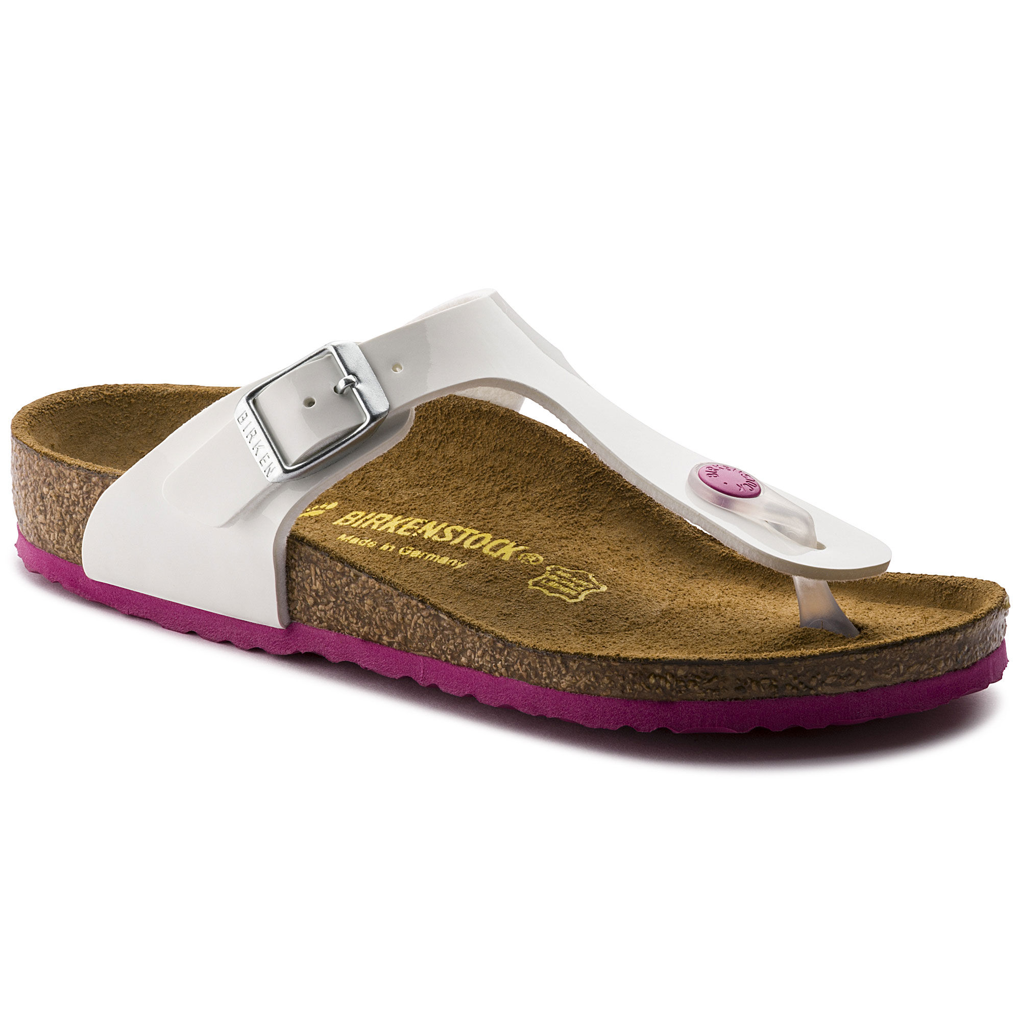 Newest Birkenstock Gizeh Flor W Purple Womens Flip Flops Outlet UK1080