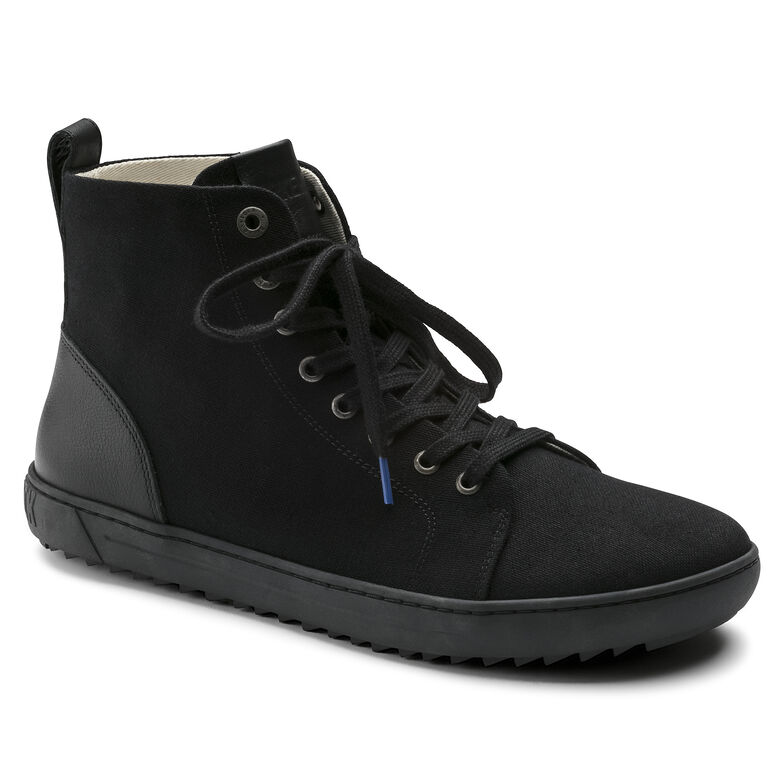 Bartlett Natural Leather/Textile Black
