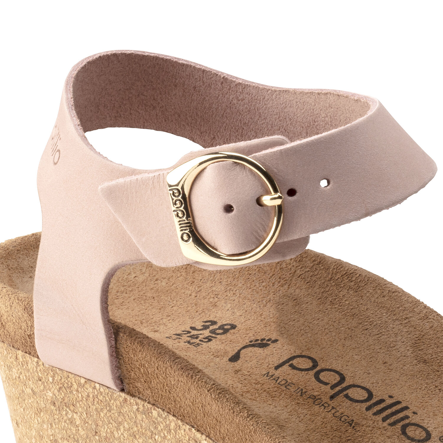 Soley Ring-Buckle Nubuck Leather