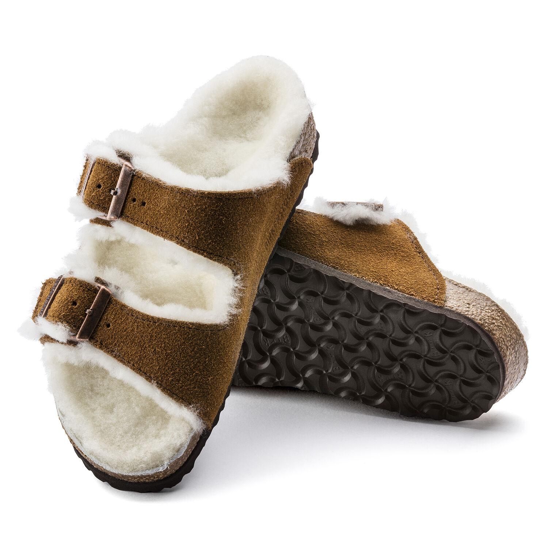 Arizona Shearling Kids Suede Leather