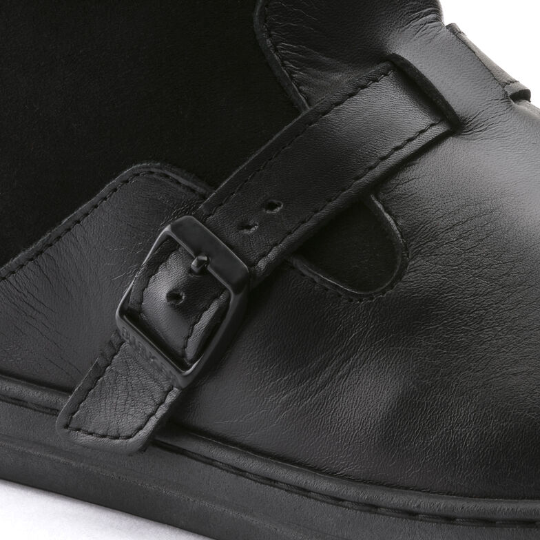 Stirling Suede Leather Schwarz