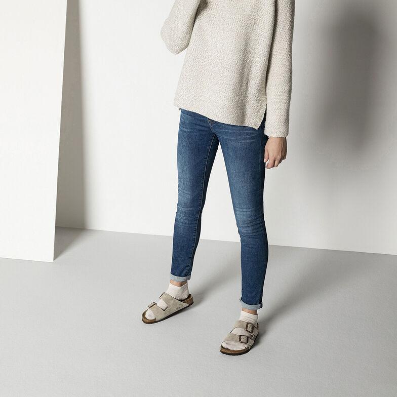 Cotton Sole Sneaker Women Beige Melange