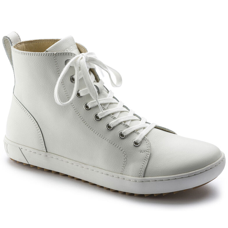 Bartlett Natural Leather White