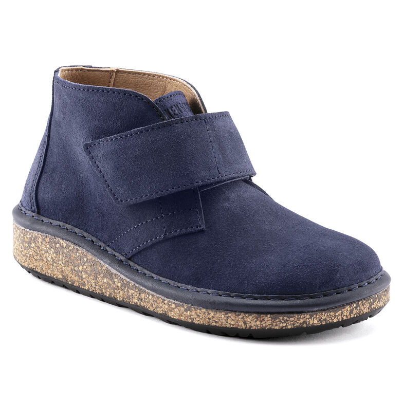 Milton Kids Suede Leather Navy
