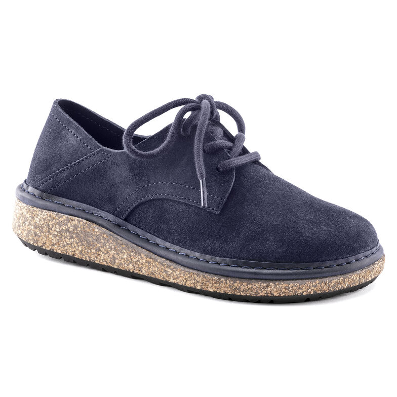 Gary Suede Leather Navy