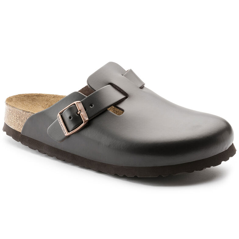 Boston Natural Leather Brown