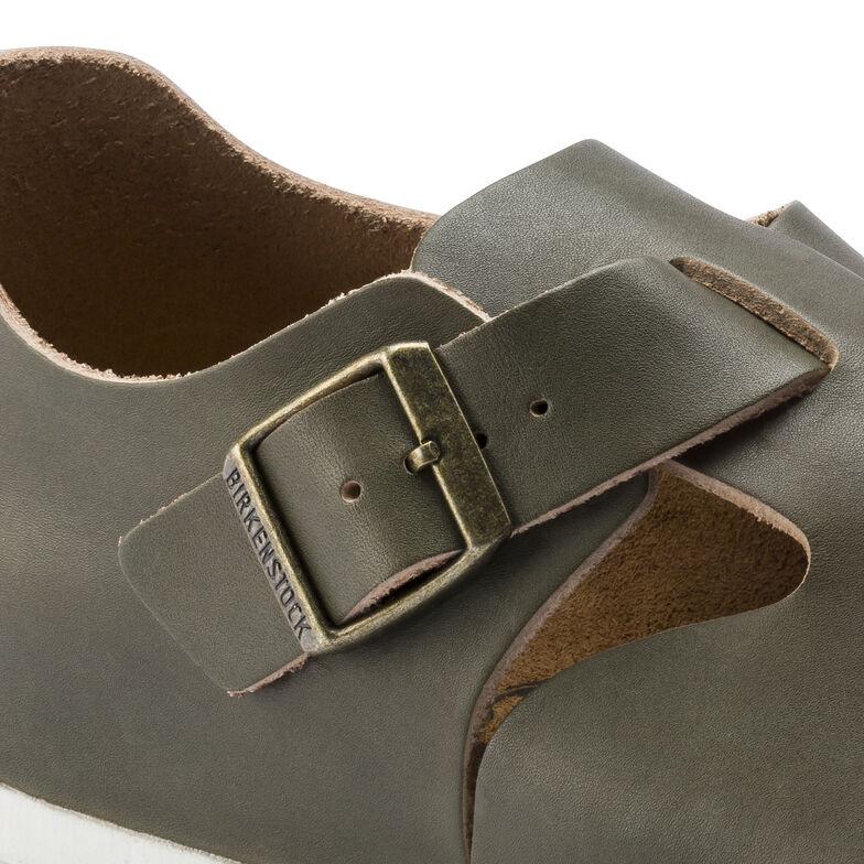 London Natural Leather Khaki