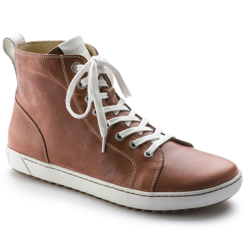 Bartlett Natural Leather Coral
