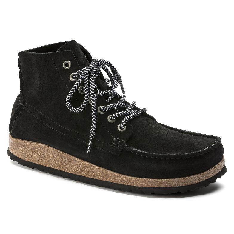 Marton Suede Leather ブラック