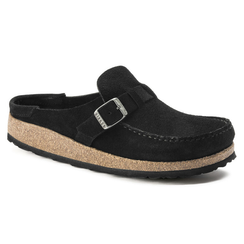 Buckley Suede Leather Black