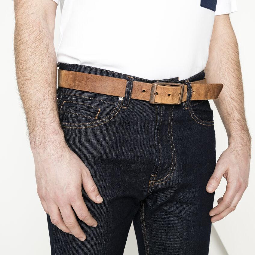 Kansas Belt Oiled Leather