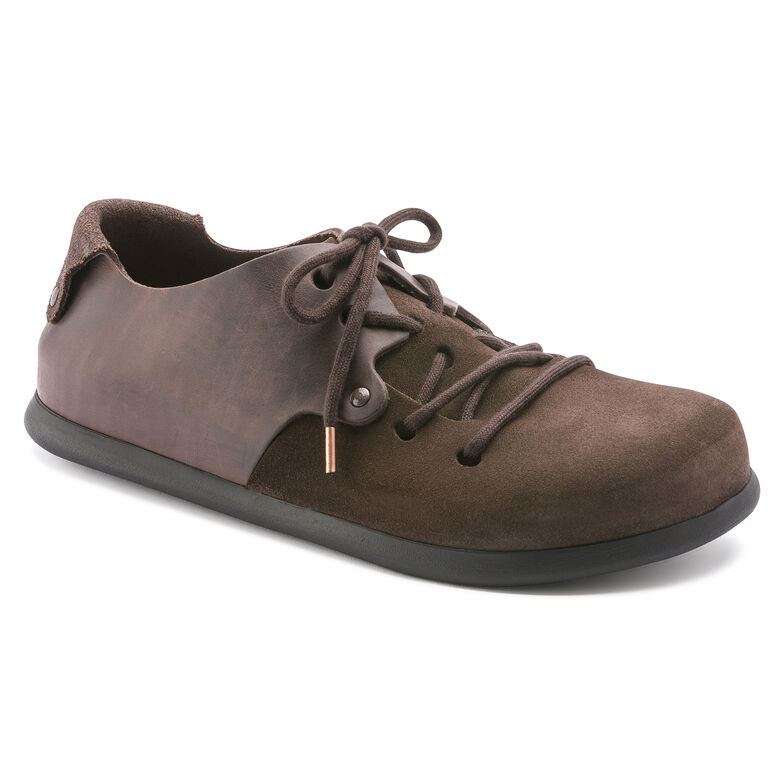 Montana Oiled Leather/Suede Leather Ebony