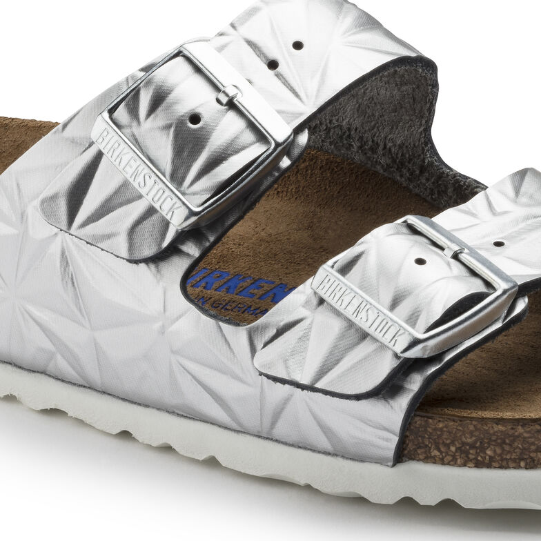 Arizona Natural Leather Spectral Silver