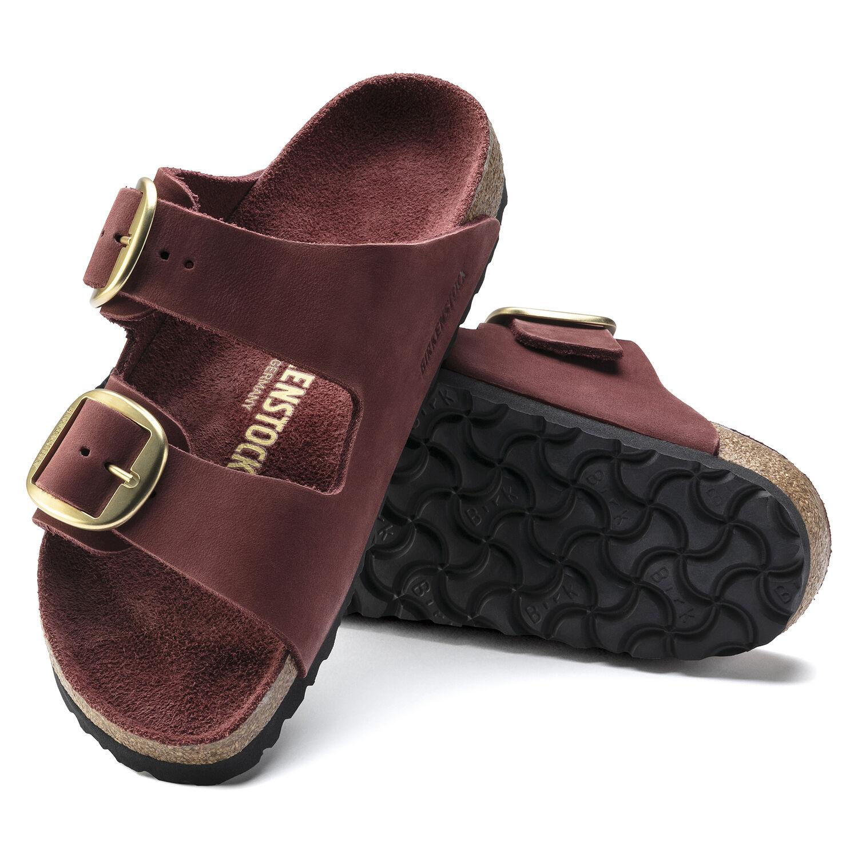 Arizona Big Buckle Nubuck Leather
