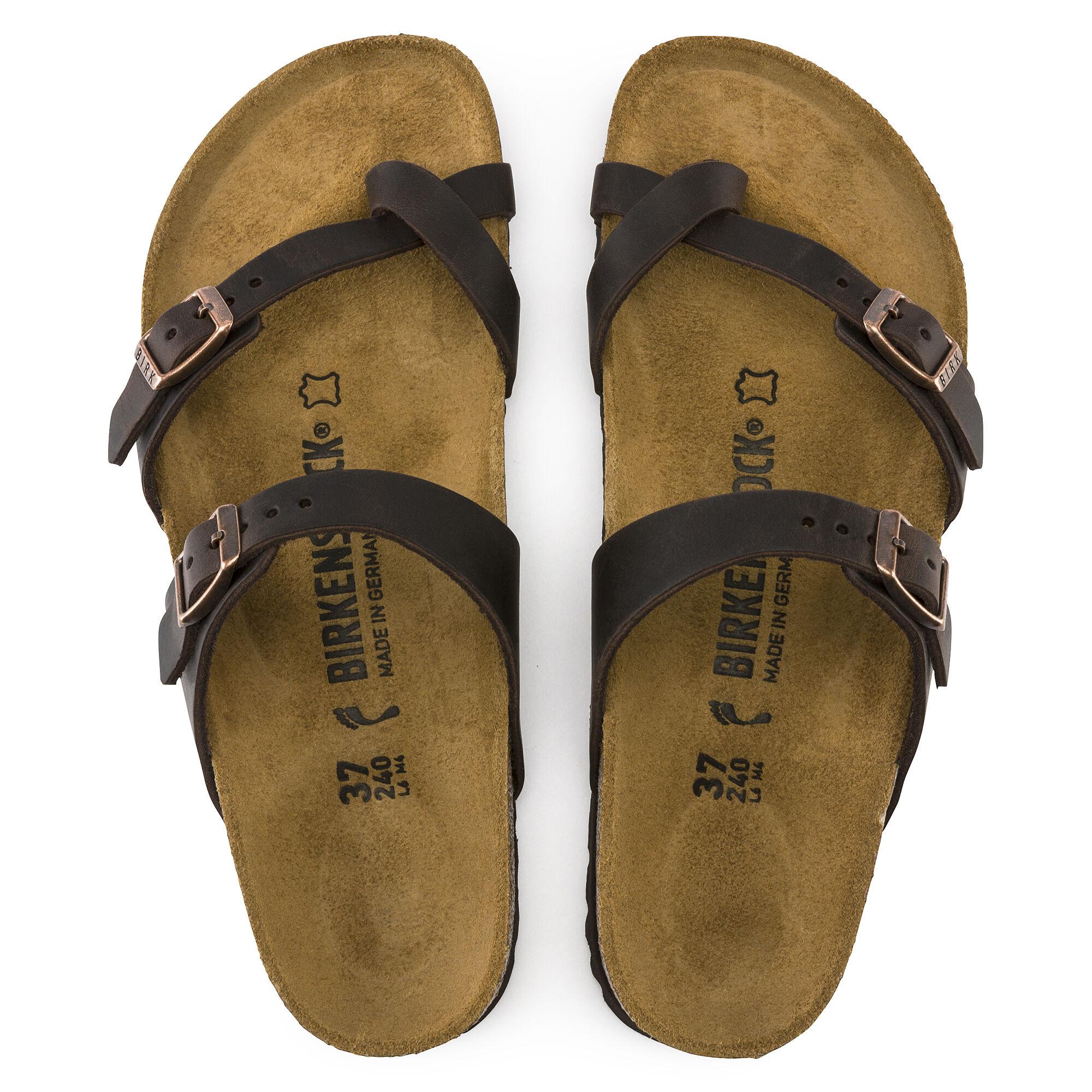 Birkenstock Mayari habana brown leather size 41