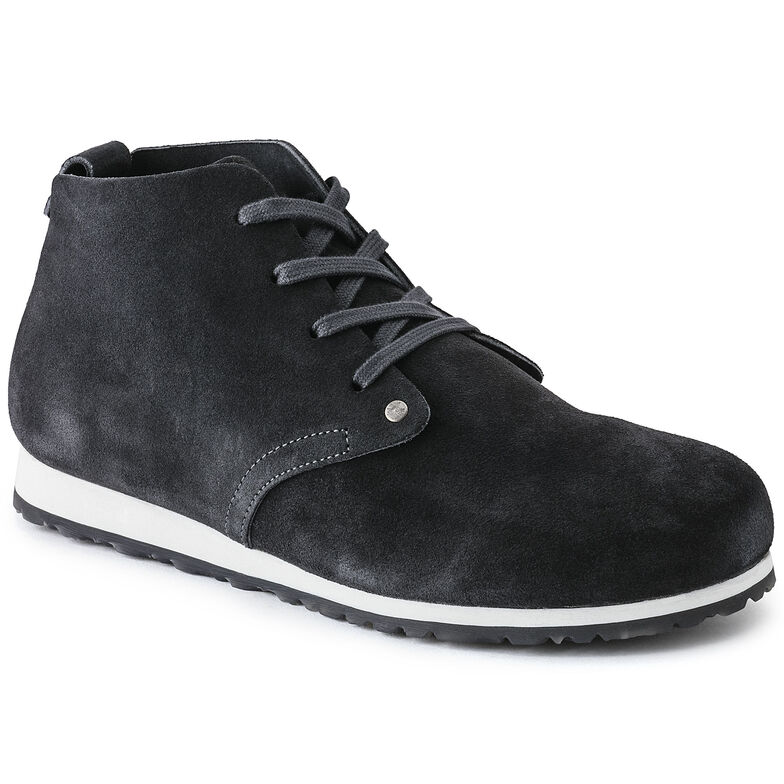 Dundee Plus  Suede Leather Dark Grey