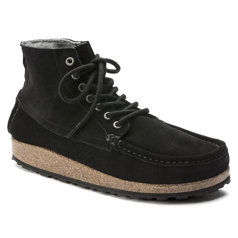 Marton Suede Leather シアリングブラック