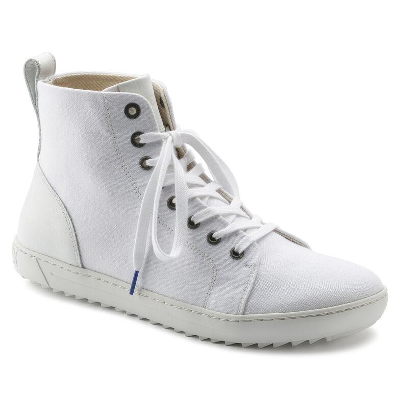 Bartlett Natural Leather/Textile White