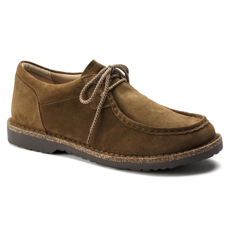 Pasadena Suede Leather Tea Hydrophobic
