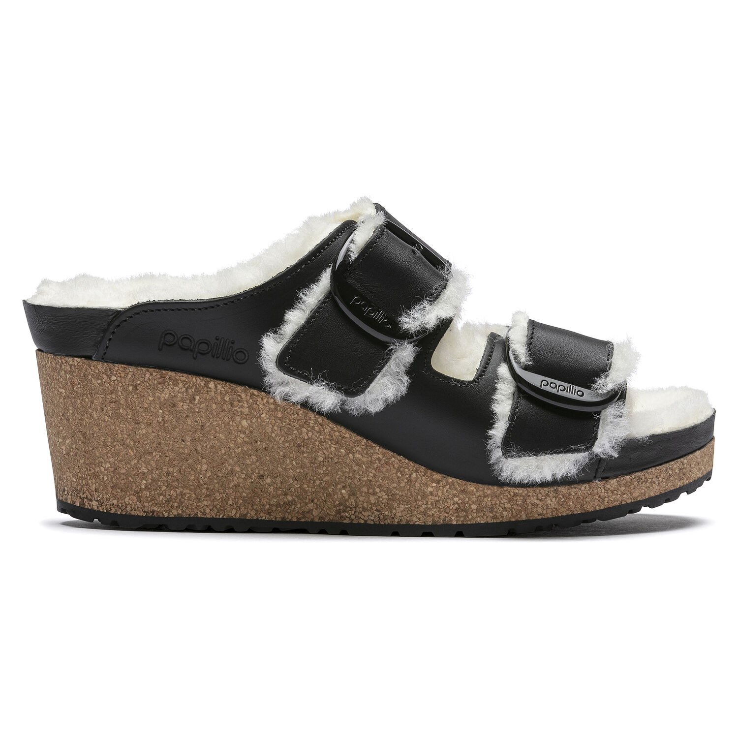 Nora Big Buckle  Natural Leather