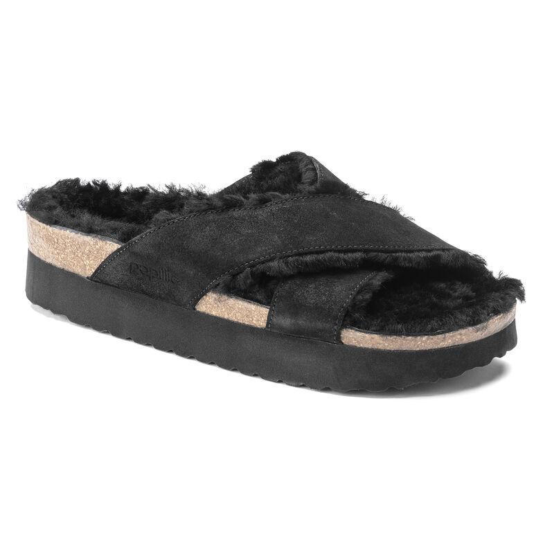 Daytona  Suede Leather Black