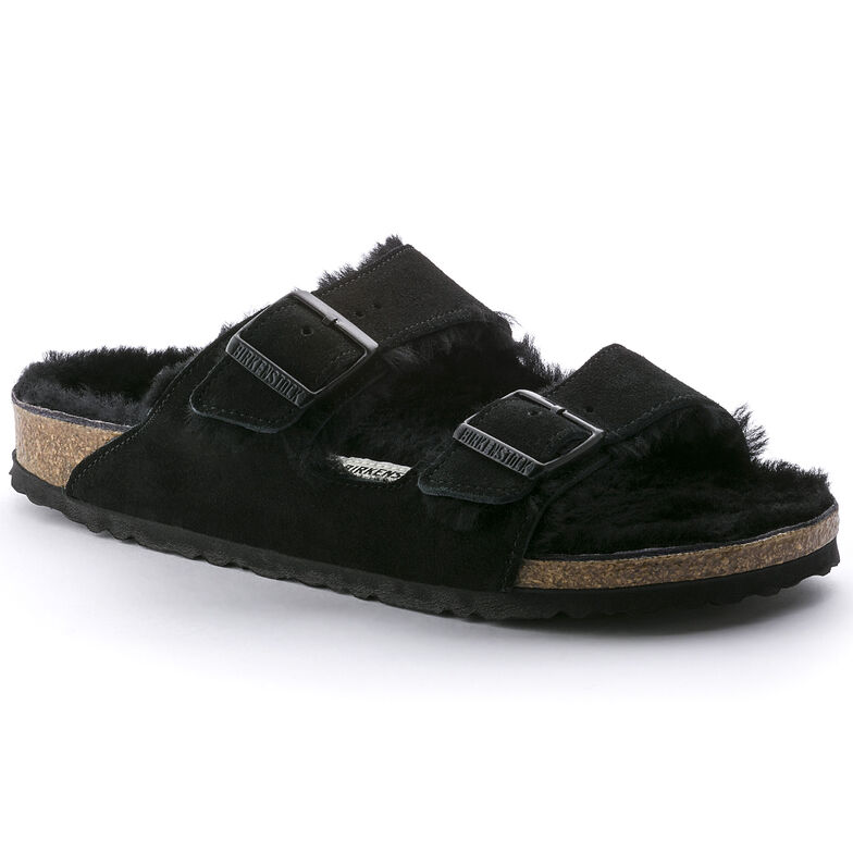 Arizona Suede Leather Black