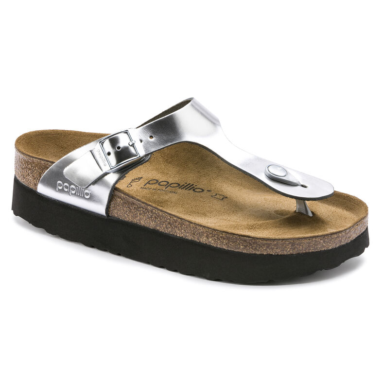 Gizeh Natural Leather Silver