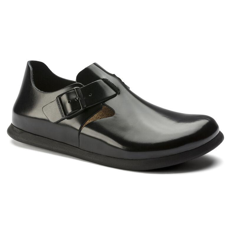 Embossed Leather Patent シャイニーブラック
