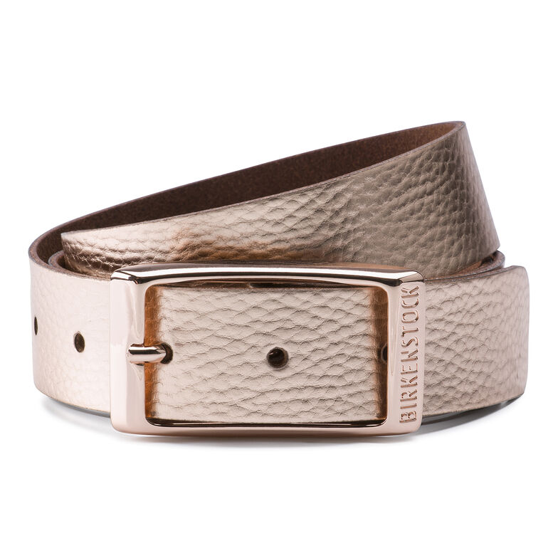 Illinois Belt Rose Golden Metallic