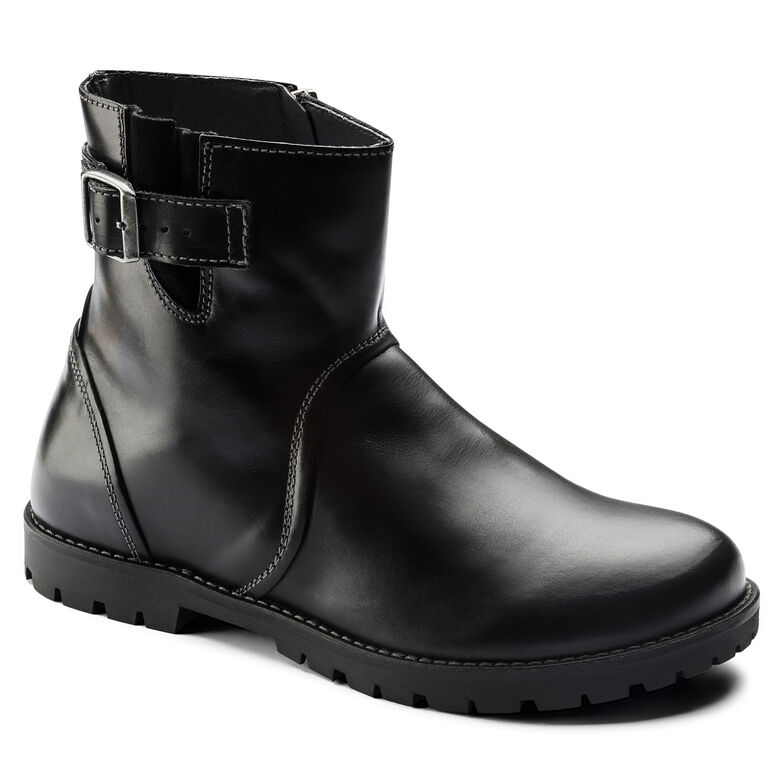 Stowe Natural Leather Schwarz