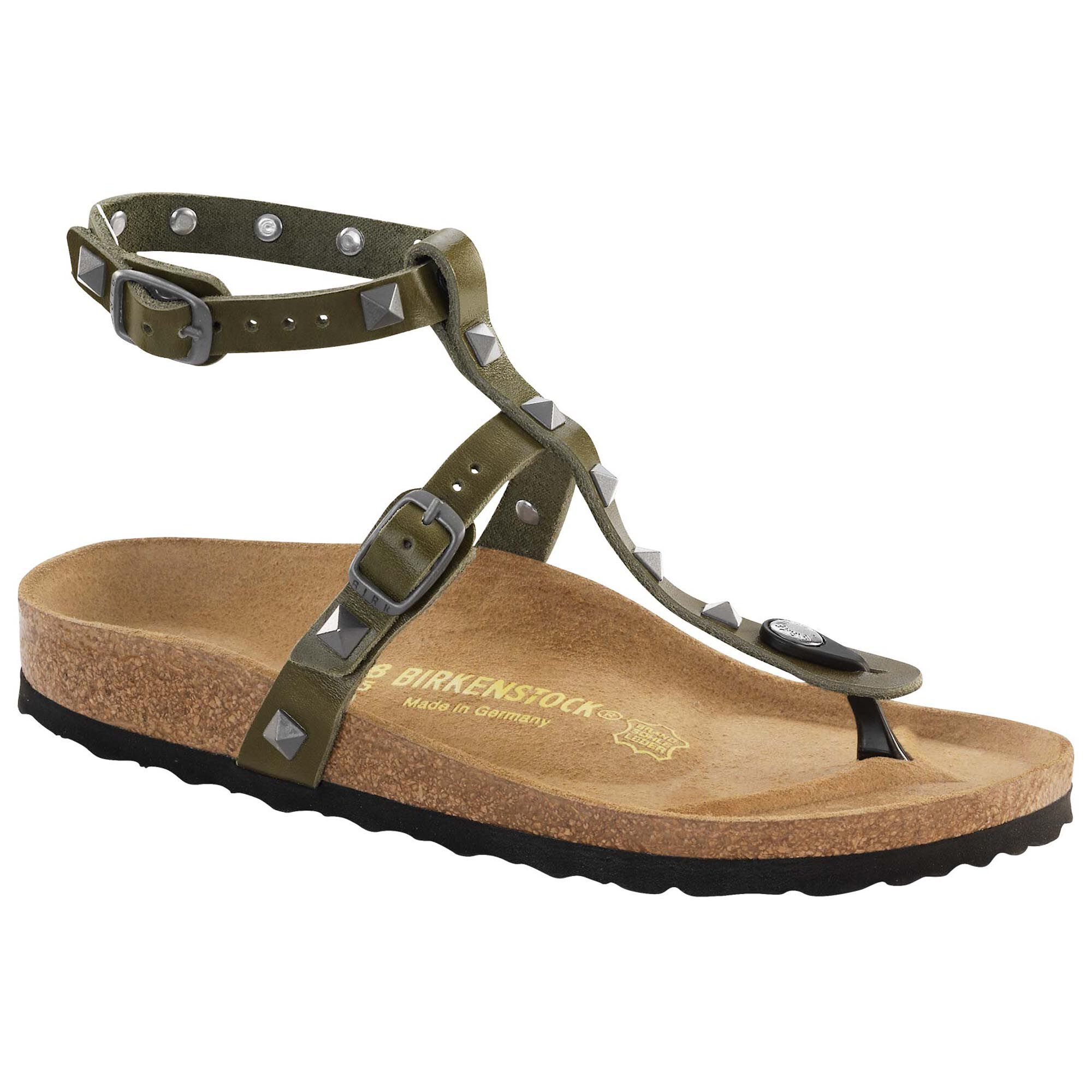 Birkenstock MARILLIA STUDS - T-bar sandals - black