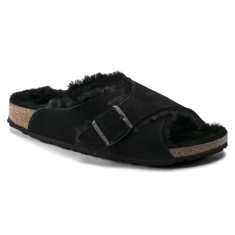 Arosa Suede Leather Black