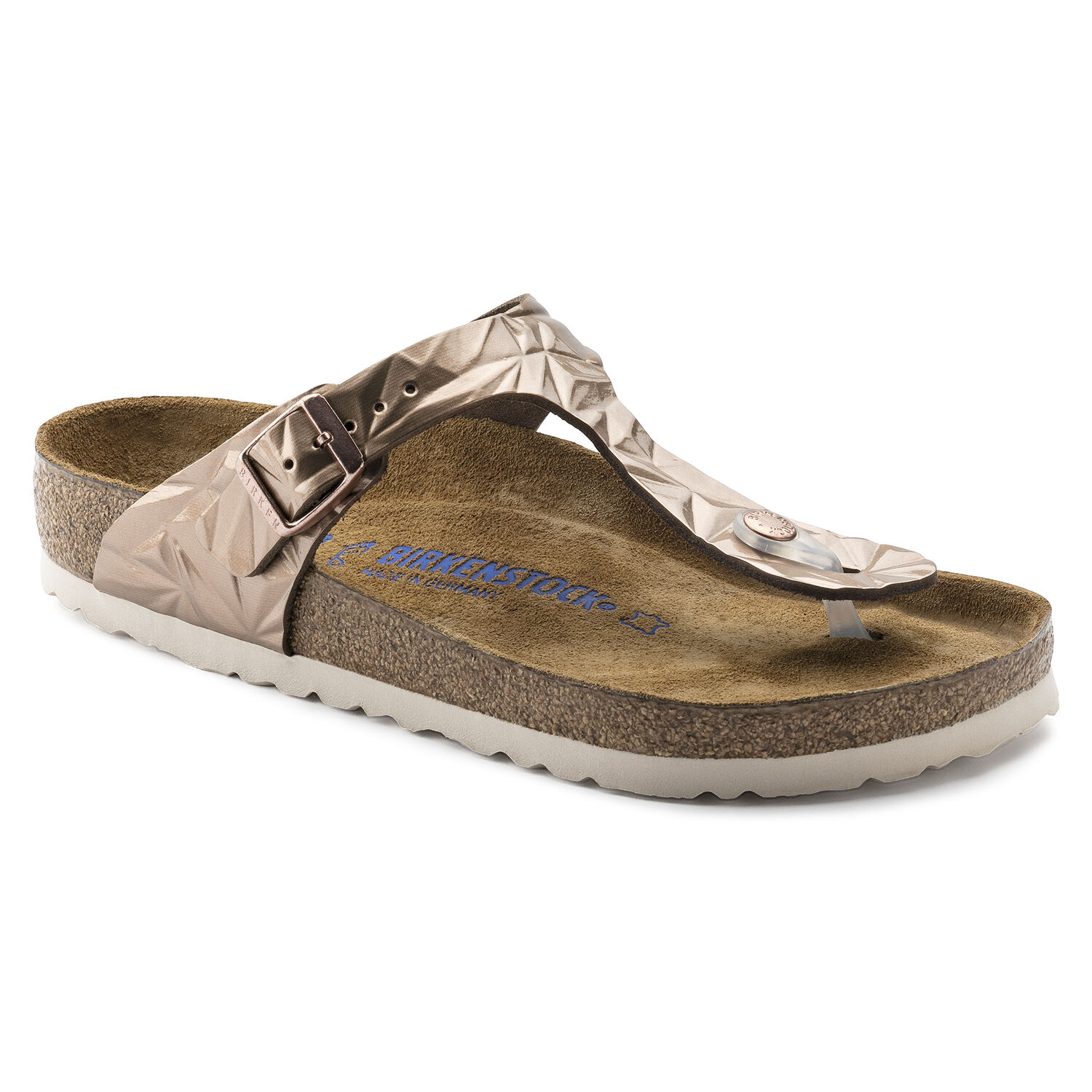 1273979872bb Gizeh Natural Leather Soft Footbed Spectral Copper