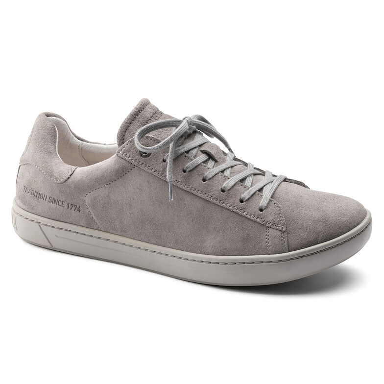 Levin Suede Leather Gray