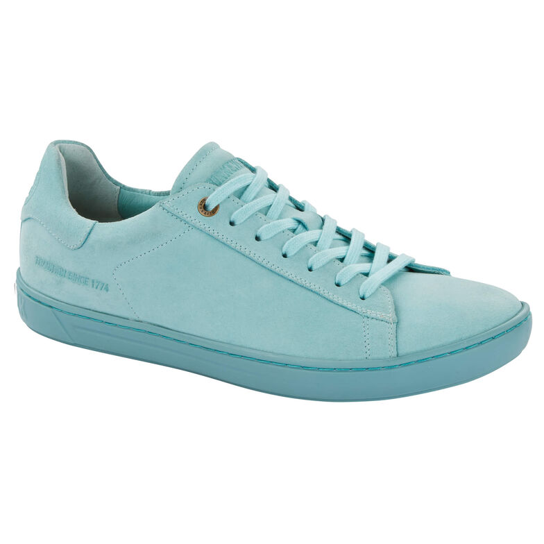 Levin Suede Leather Aqua