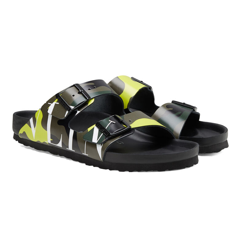 Arizona Valentino Garavani VLTN Army Green-Lime