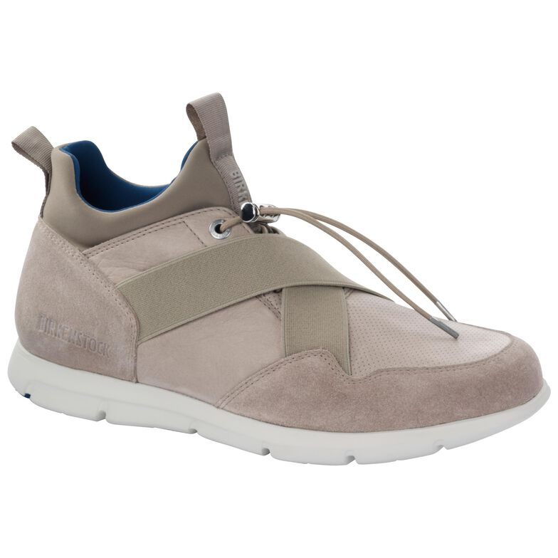 Ames Suede Leather Taupe