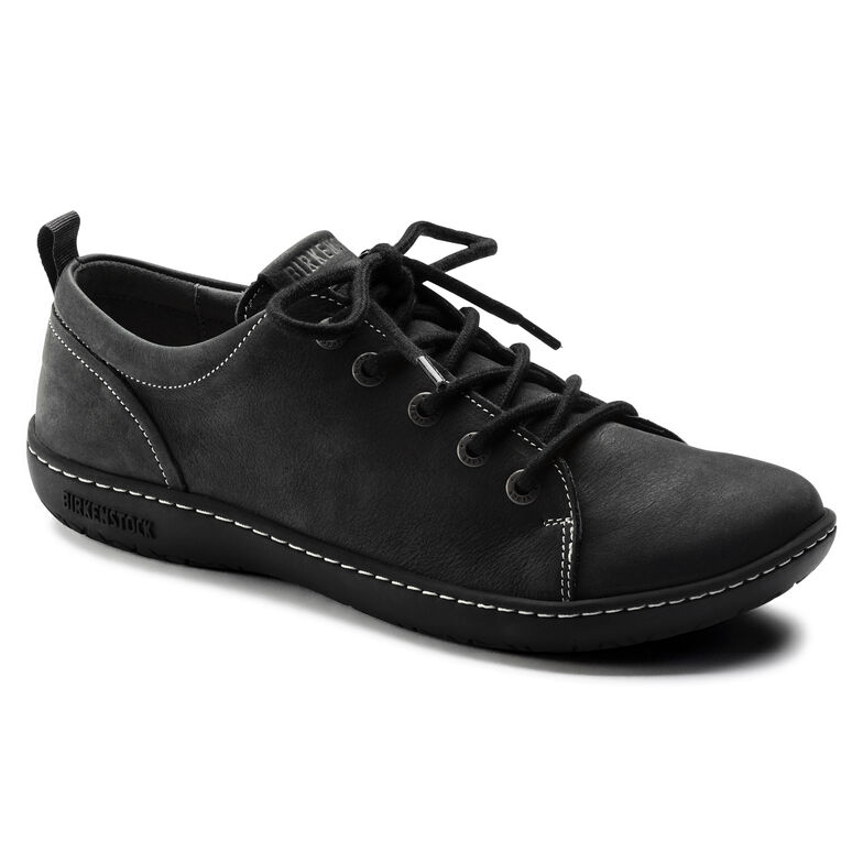 Islay Nubuck Leather Asphalt