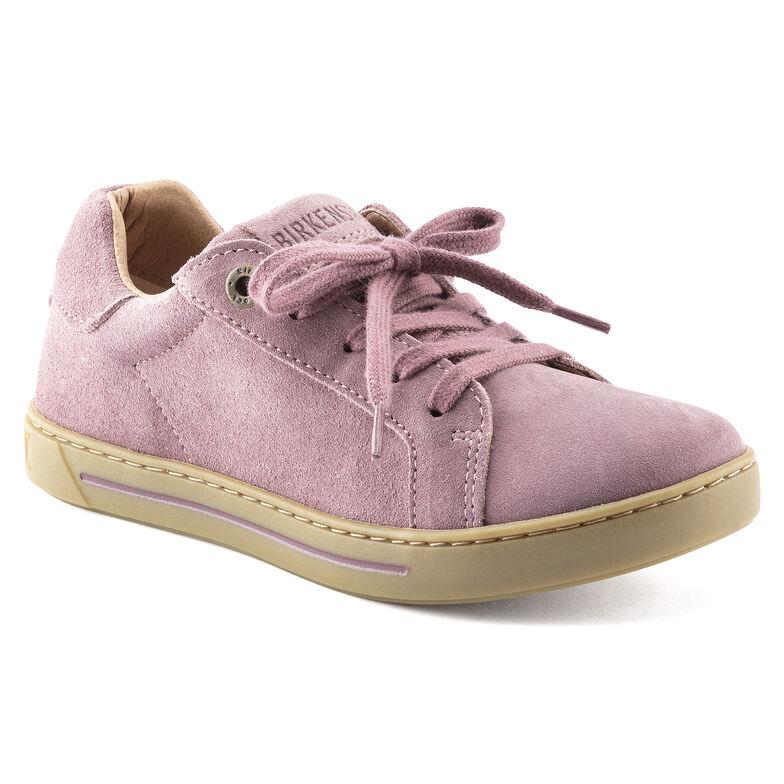 Porto Kids Suede Leather Lavender Blush