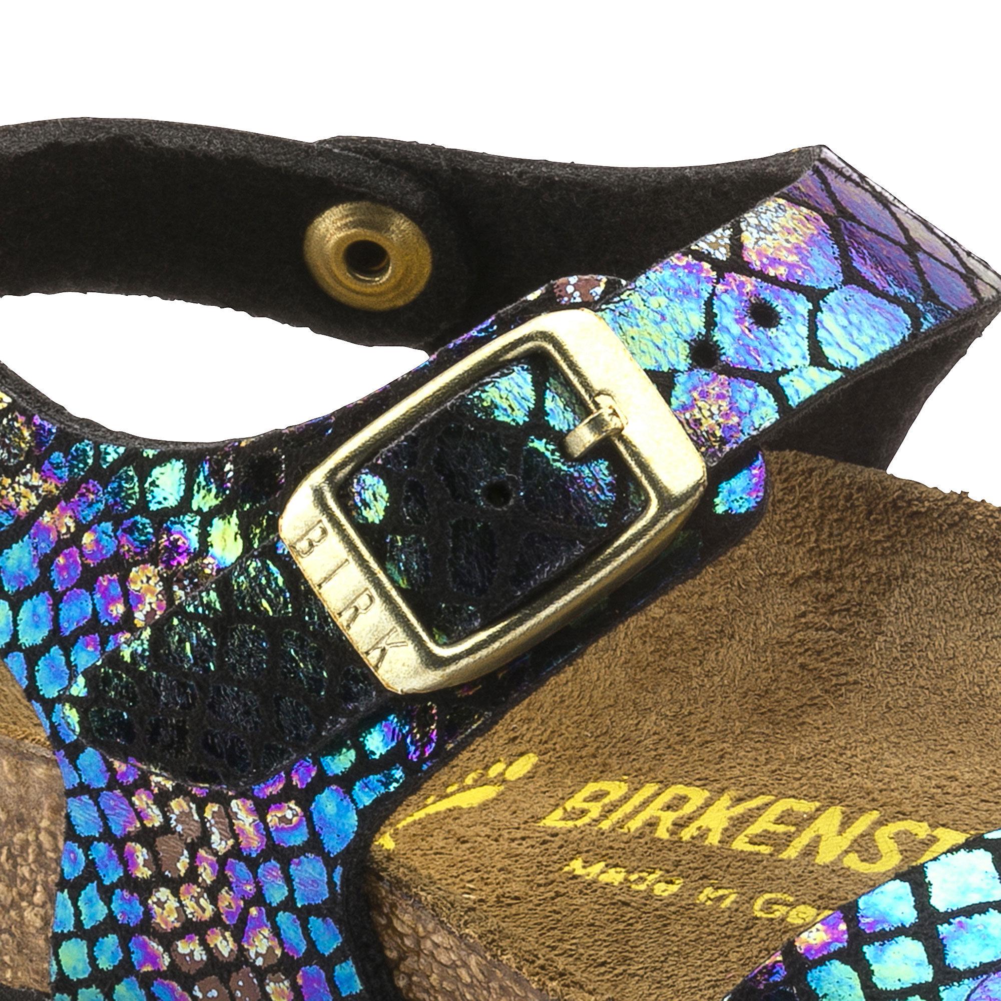 Rio Birko Flor Shiny Snake Black Multicolor