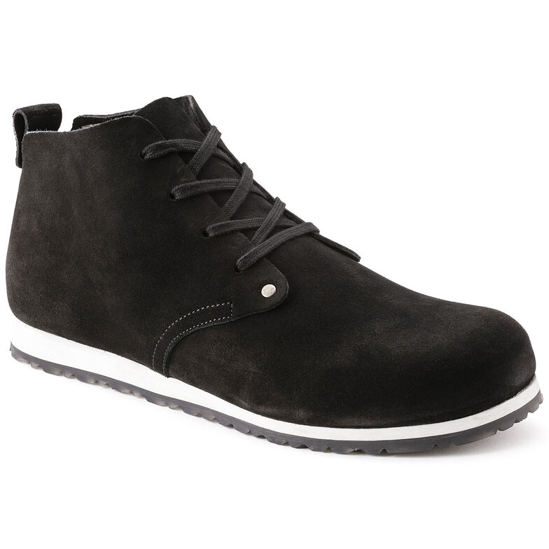 Dundee Suede Leather Black1