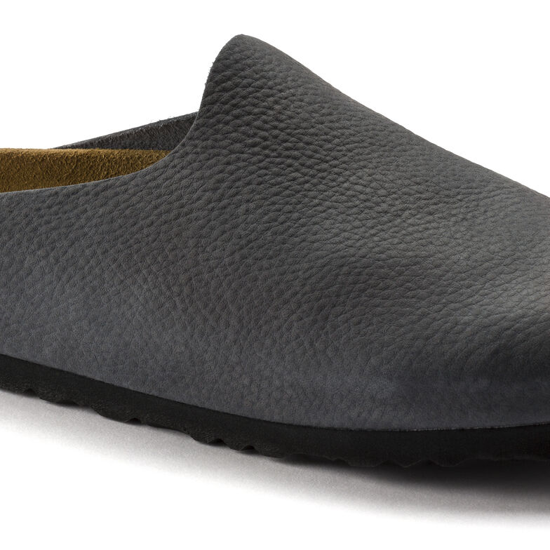Amsterdam Nubuck Leather Steer Anthracite