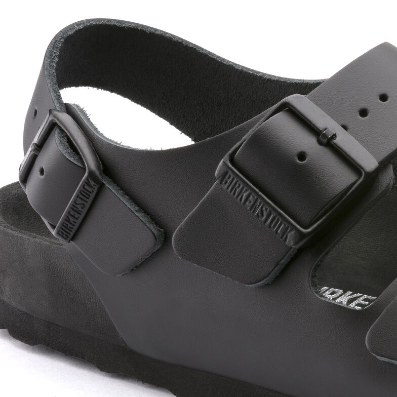 Milano natural leather black acquista online su birkenstock for Mostra anatomica milano