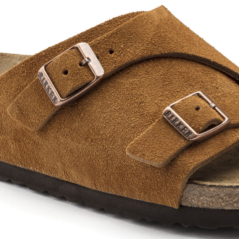 Zürich Suede Leather Soft Footbed